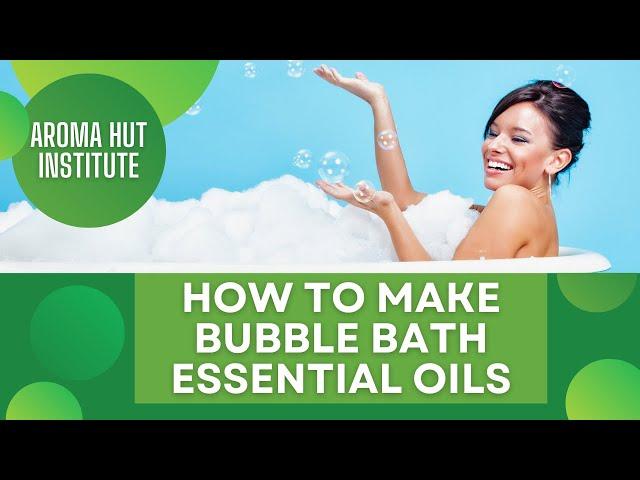 DIY Bubble Bath Recipe   How to Make Bubble Baths At Home
