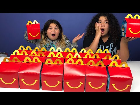 Don't Choose The Wrong McDonald's Happy Meal Slime Challenge