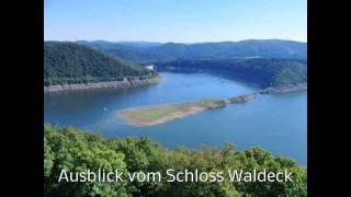 Edersee Talsperre Schloss Waldeck Hessen