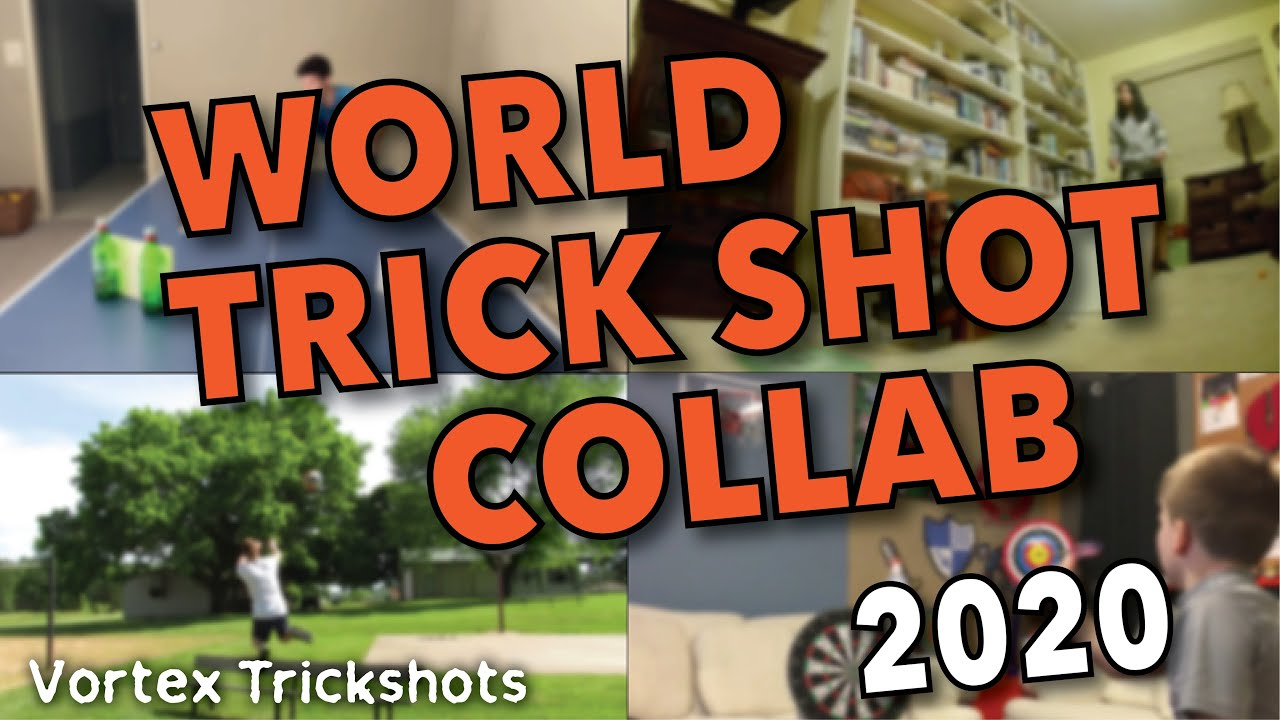 We are the trickshooters - World Trick Shot Collab 2020 | Vortex Trickshots