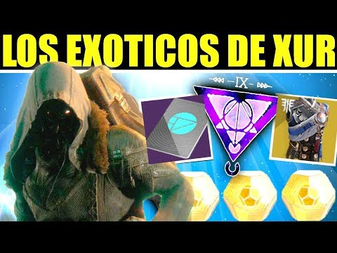 Destiny 2: Exóticos de Xur! Invitación de los Nueve! Localización! Contratos! | 5 de Abril thumbnail