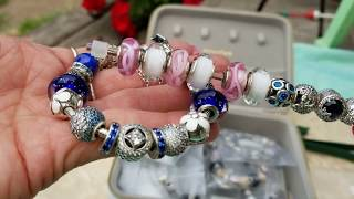 Entire Pandora Collection!! 8.19.18 PART 1 Go through my jewelry boxes with me!! Moments Essence