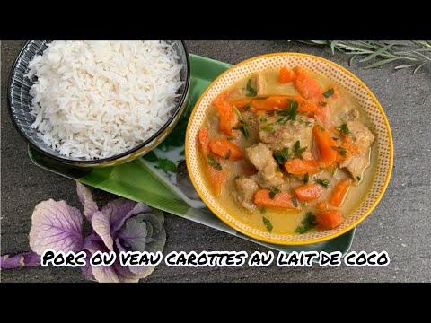 recette-de-porc-ou-veau-carottes-au-lait-de-coco