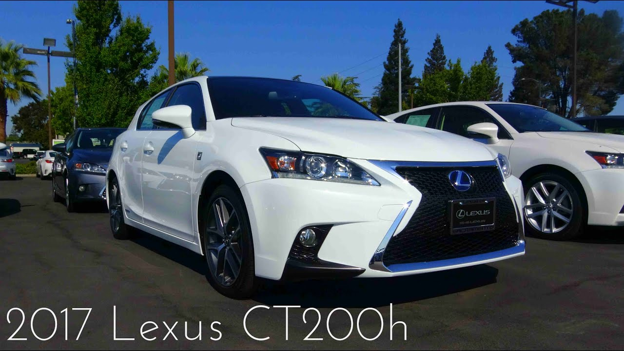 2017 Lexus CT200h F Sport 1 8 L 4 Cylinder Review