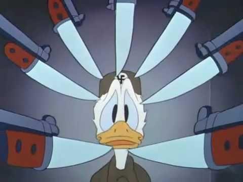 Donald Duck - Der Fuehrer's face | eng sub