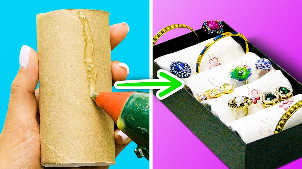 22 Organizers You Can Diy In 5 Minutes Youtube