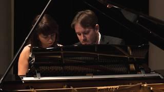 Pianoduo Amacord/ C.Debussy -Six Epigraphes Antiques: Pour Invoquer Pan, Dieu du vent d'Été
