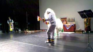 Tashi Lhunpo Monks @ Plymouth University-Snow Lion Dance