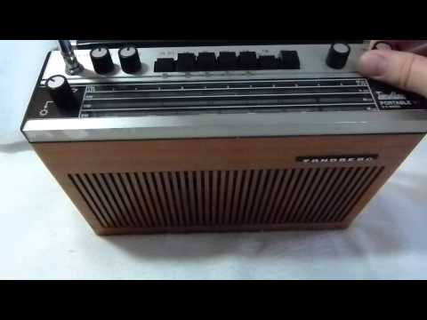 Tandberg TP-41 transistor radio (Norway, early 1970s) and how to replace the stabilizer
