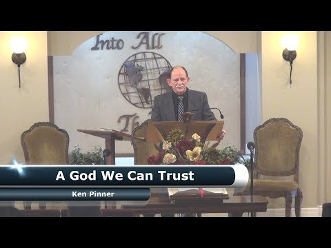 A God We Can Trust - January 13, 2018