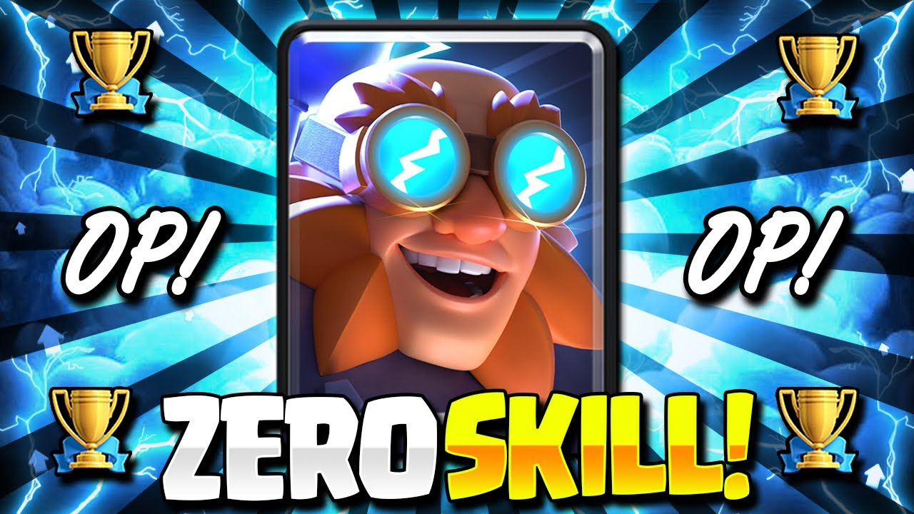 The NEW EASIEST Electro Giant Deck in Clash Royale Now!! Zero Skill Needed!!