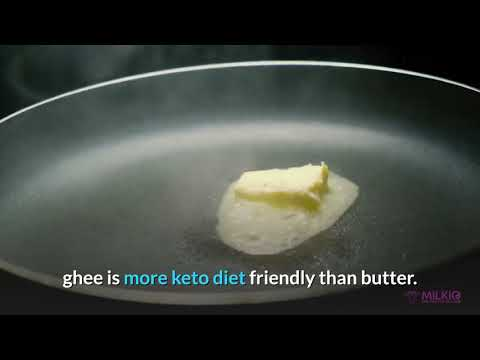 Grass-fed Ghee or butter: the better butter for the success of Keto