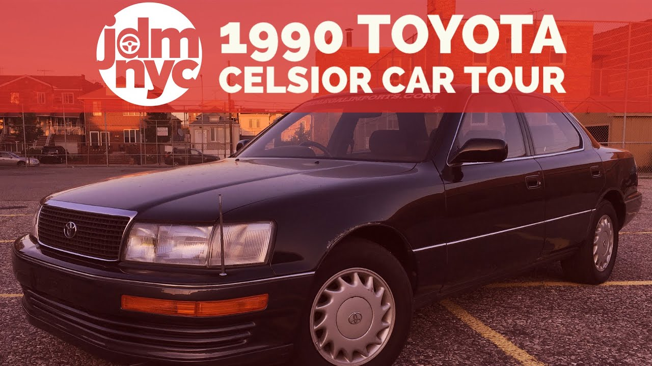 90 toyota celsior lexus ls400 interior car tour jdmnyc