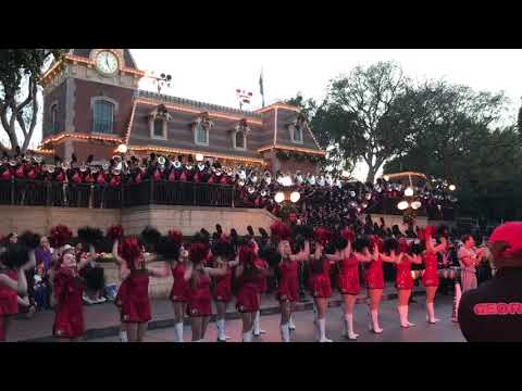 University of Georgia Marching Band performs in the Rose Bowl Parade