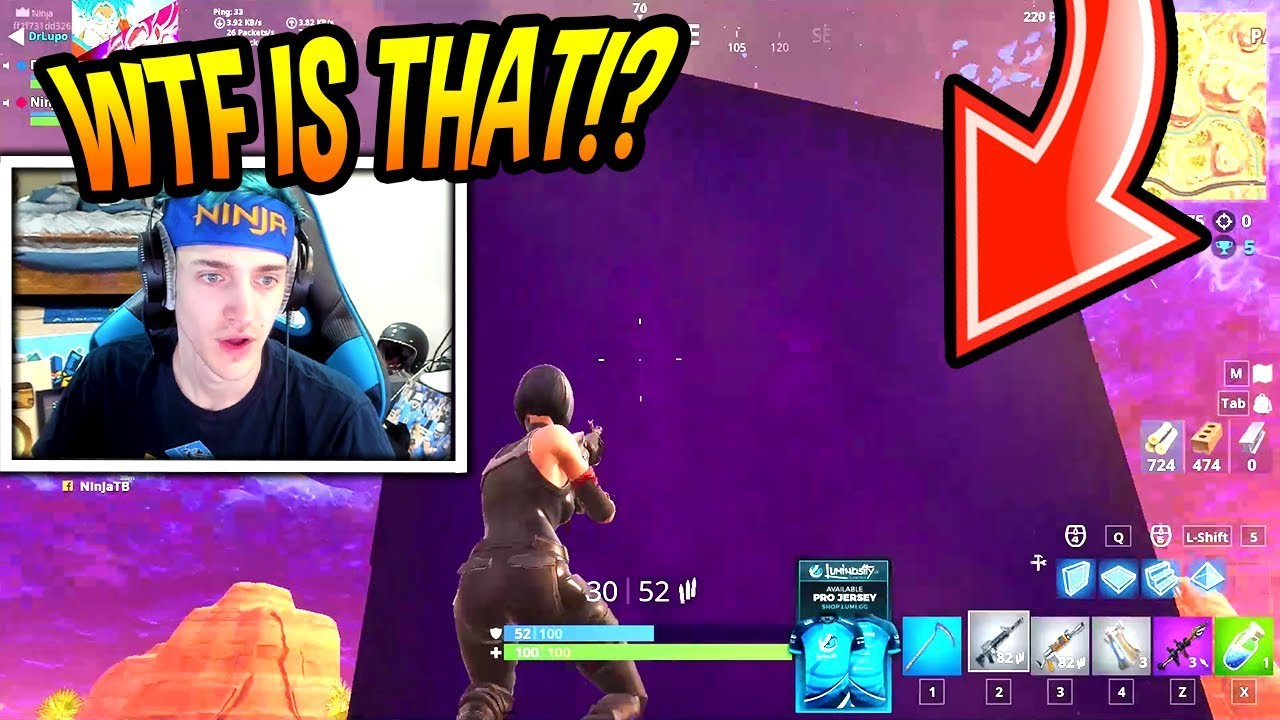 NINJA REACTS TO *HUGE* LIGHTNING CUBE EVENT! *CRAZY* Fortnite FUNNY & SAVAGE Moments
