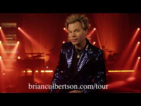 Brian Culbertsons COLORS OF LOVE TOUR Promo