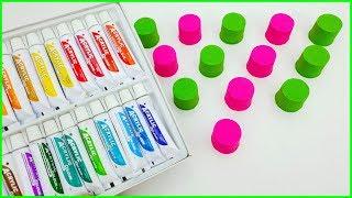 Kinetik Kumdan Ne Çıkarsa Slime Challenge - Kinetic Sand Slime - Vak Vak TV