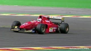 Ferrari 412 T2 F1 ex Jean Alesi - PURE V12 SOUNDS!