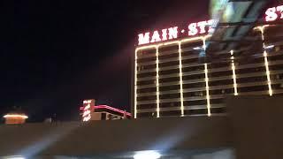 Las Vegas Travel Video. Downtown Las Vegas at Night. Tour downtown Las Vegas. Old Hotels Vegas