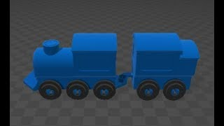 3D BUILDER TUTRIOAL HOW TO MAKE A TRAIN FOR FREE SOFTWARE BY WINDOWS