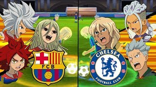 Inazuma Eleven UCL ~ Barcelona vs Chelsea ※Pokemon Anchor※