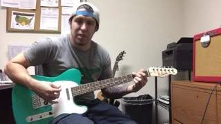 Fender Squier Competition Green