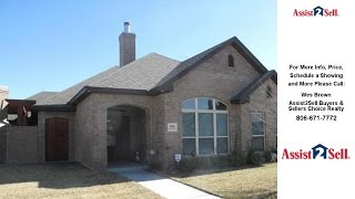 8401 English Bay, Amarillo, TX Presented by Wes Brown.