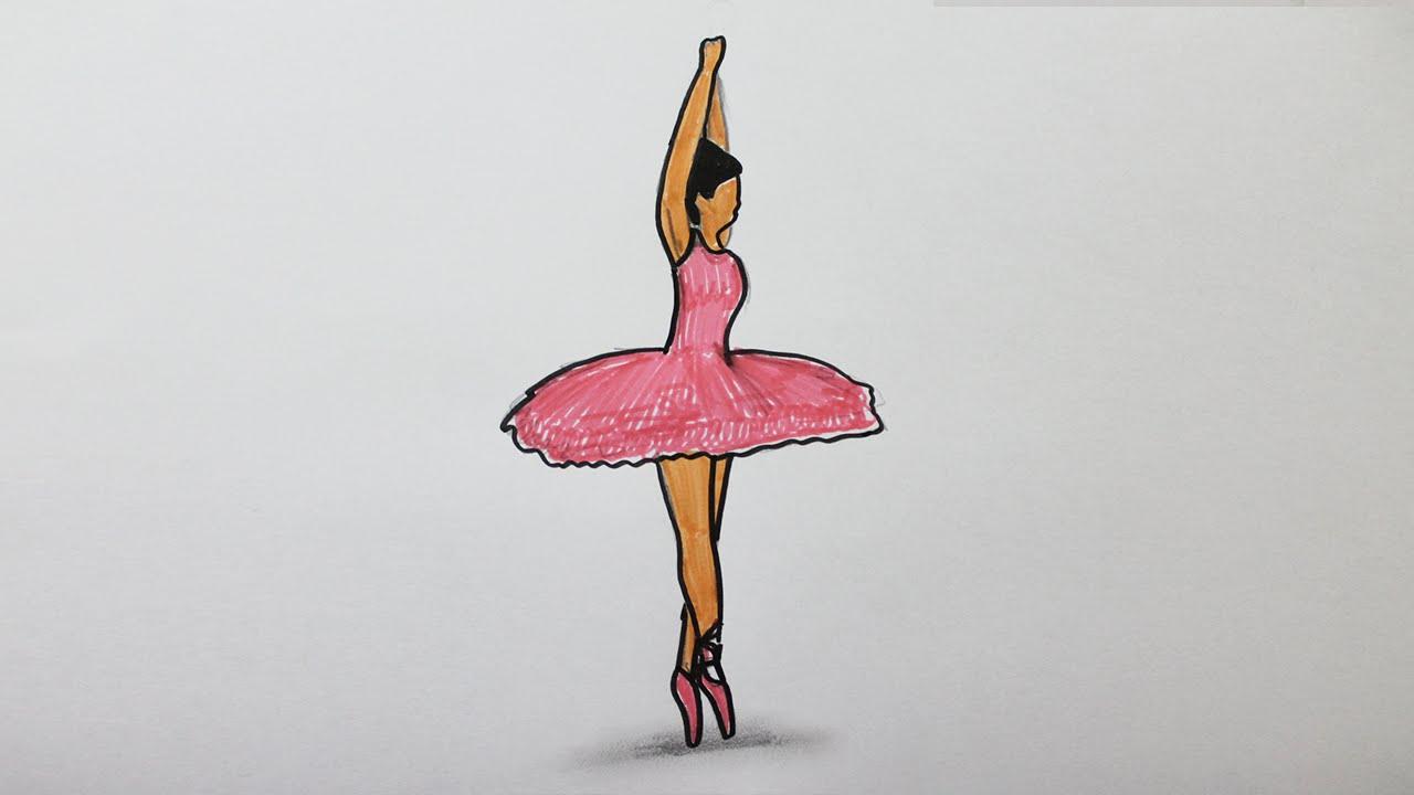 Comment dessiner une danseuse youtube - Dessiner une danseuse ...