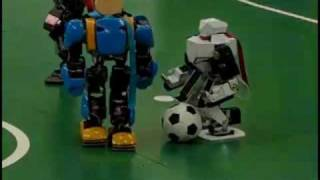 12th KondoCup Robot Soccer: Cool Moves!