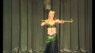 Танец с тростью (Belly dance)