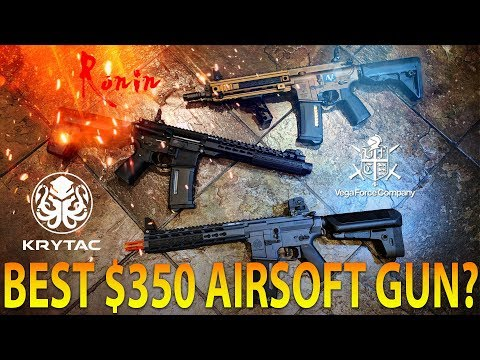 BEST AIRSOFT GUN  FOR $350 KRYTAC VS RONIN VS AVALON- SPARTAN117GW
