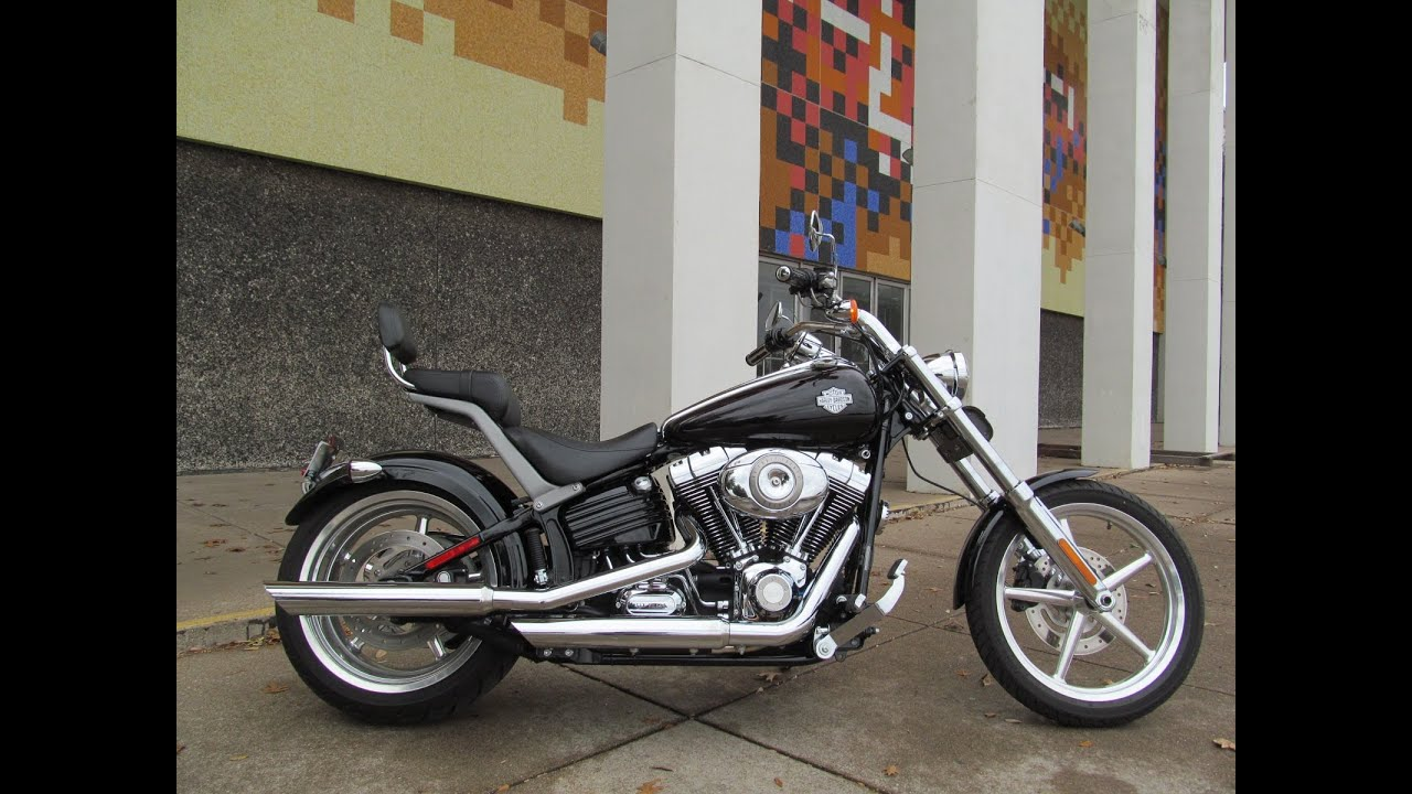 2008 Harley-Davidson Rocker C FXCWC - YouTube