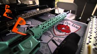 5.11 Media at Shot Show 2015 with Devil Dog Arms