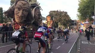 2e impressie 1e fruitcorso ronde van Tiel Nieuwelingen wedstrijd