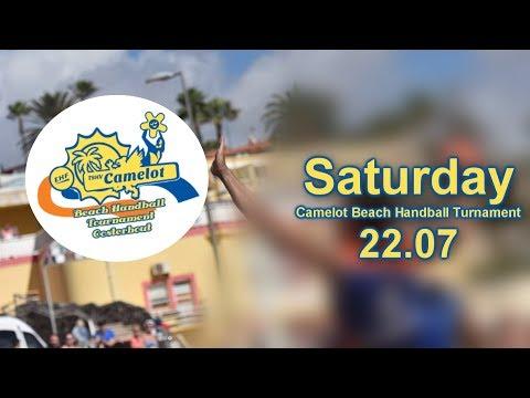 Camelot Beachhandball Tournament 2017 - Saturday