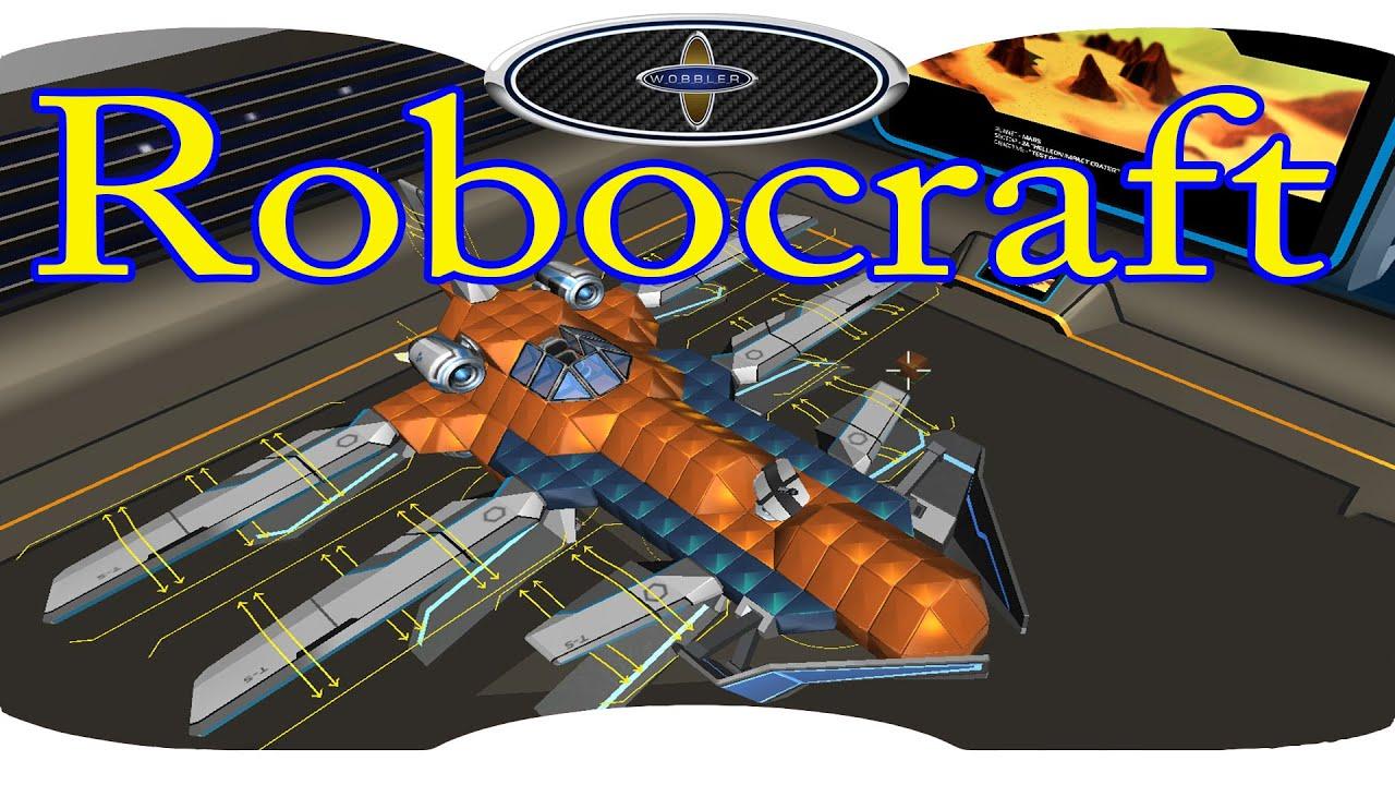 Как построить самолет в Robocraft. Прем крафт 5 лвл ...