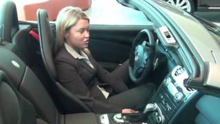 Emily shows us the jaw dropping 2009 McLaren SLR 722s Roadster