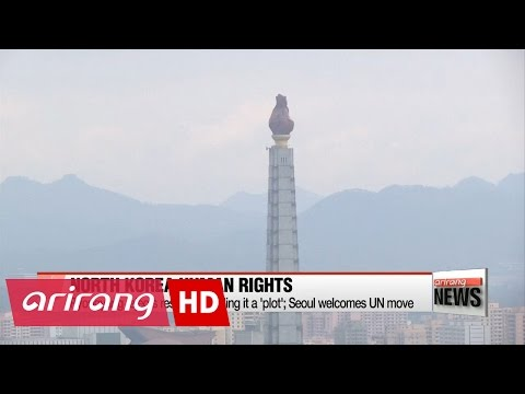 UN General Assembly committee approves N. Korea human rights resolution
