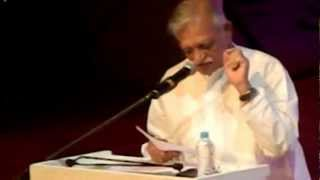 Tribute to Jagjit Singh by Gulzar --- concert at Siri Fort March