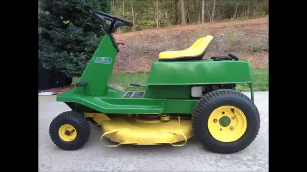John Deere S82 Model Riding Lawnmowermodelr72i Need The Assembly Diagram Lawn Mower Youtube 1280x720