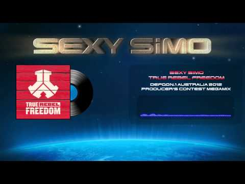 Sexy Simo - True Rebel Freedom (Defqon.1 Australia 2012 Producers Competition Megamix)