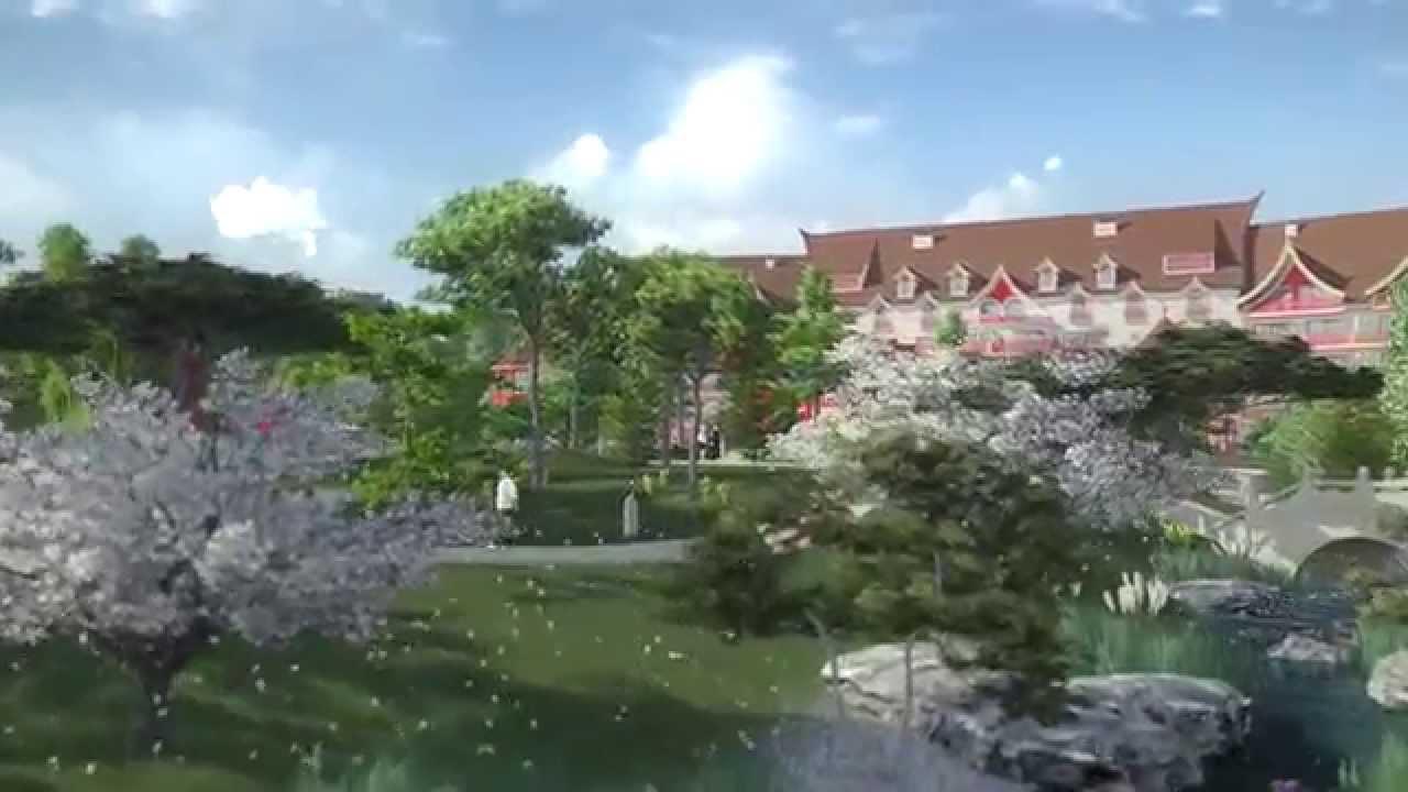 En 2015 ouverture de l 39 h tel les pagodes de beauval for Hotels de beauval