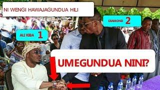 UMEGUNDUA NINI HAPA! Diamond Na ALI Kiba Waliposalimiana (Watu wengi hawajajua bado)