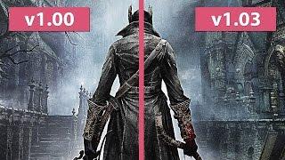 Bloodborne – v1.00 vs. v1.03 Loading Time Comparison Digital Download Version [FullHD]