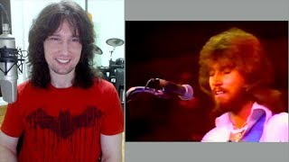 British guitarist analyses the Bee Gees live in 1974!