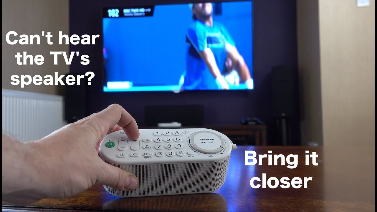 How to fix a blown speaker on tv
