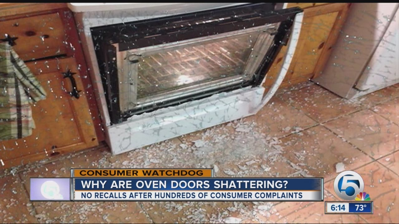 Shattering Oven Doors Youtube