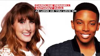 [HD STUDIO VERSION] Caroline Pennell - As Long As You Love Me (dt. Anthony Paul)