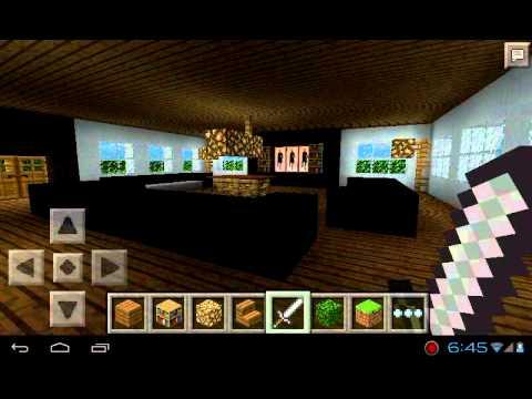 Minecraft Pe 0 8 1 Casa Grande Y Moderna Youtube
