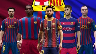 FC BARCELONA IN EVERY FIFA (96-21)